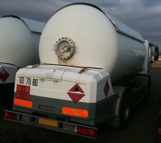 Used truck LPG gas tank Iveco - Propane-Butane 19,6 m³ ...