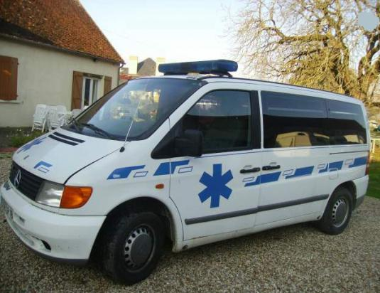 Medical Ambulance For Patient Transport Mercedes Vito 112