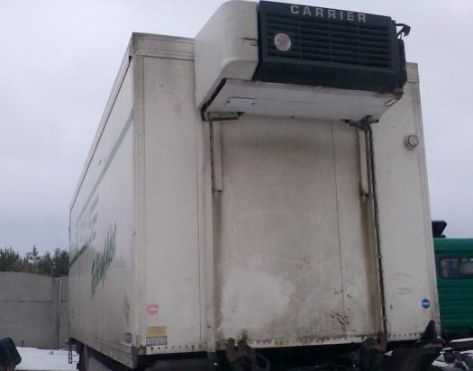 truck refrigerated container
