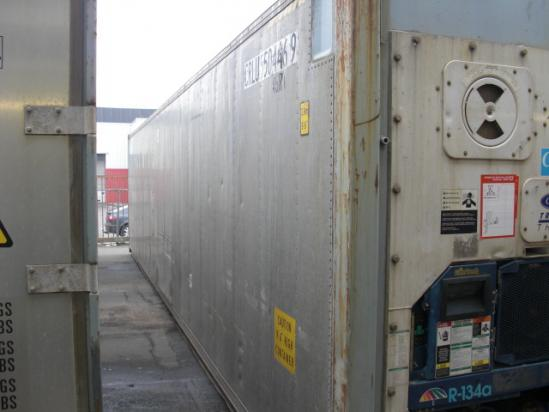40ft Hi Cube Aluminum Reefer Shipping Container Carrier