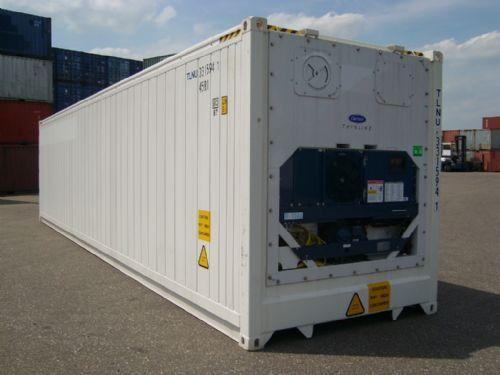 New 40ft High Cube Refrigerated Containers Reefer Year 2011