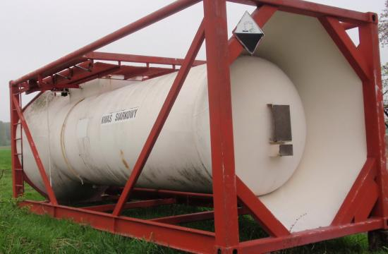 ISO tank container chemical products ADR for sulfuric acid CHEMAR year 1992 & ISO tank container chemical products ADR for sulfuric acid CHEMAR ...