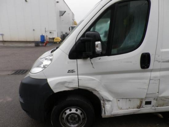 Crashed Light Commercial Vehicle Van Damaged Repairable Fiat Ducato 3 0 Mh1 Year 2010